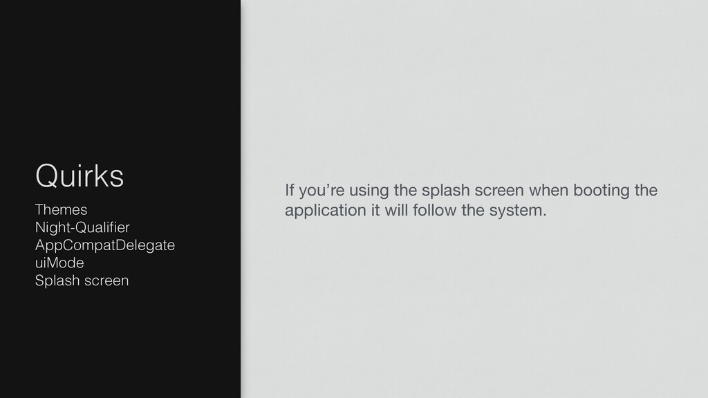 If you're using the splash screen when booting ...