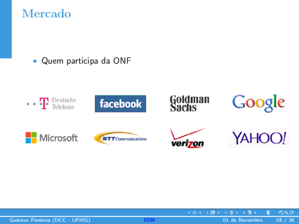 Mercado • Quem participa da ONF Gustavo Pantuza...