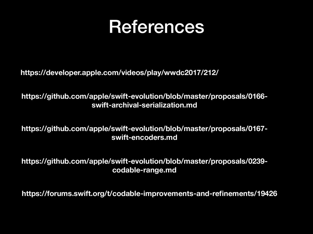 References https://developer.apple.com/videos/p...