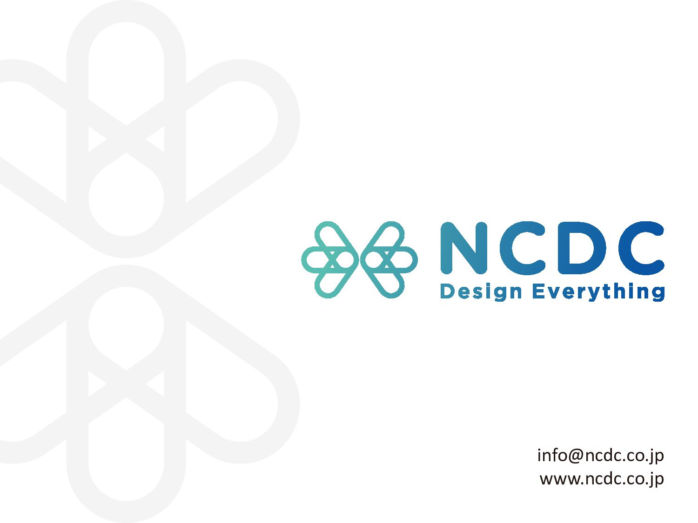 info@ncdc.co.jp www.ncdc.co.jp