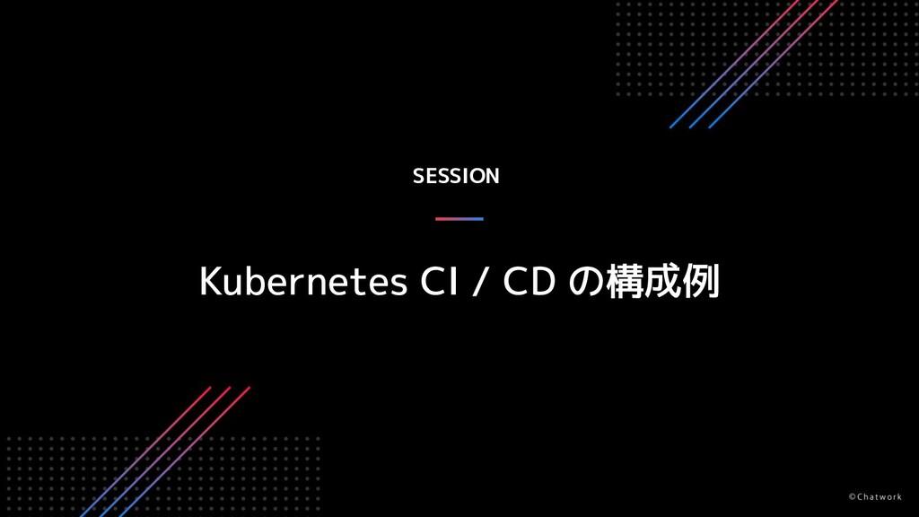SESSION Kubernetes CI / CD の構成例