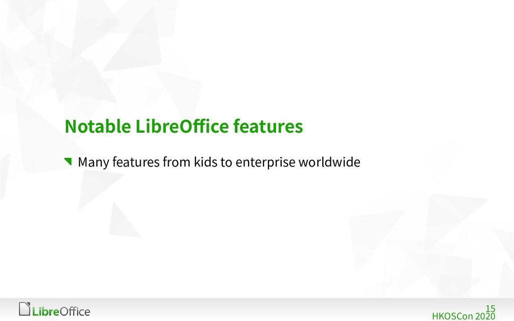 15 HKOSCon 2020 Notable LibreOffice features Ma...