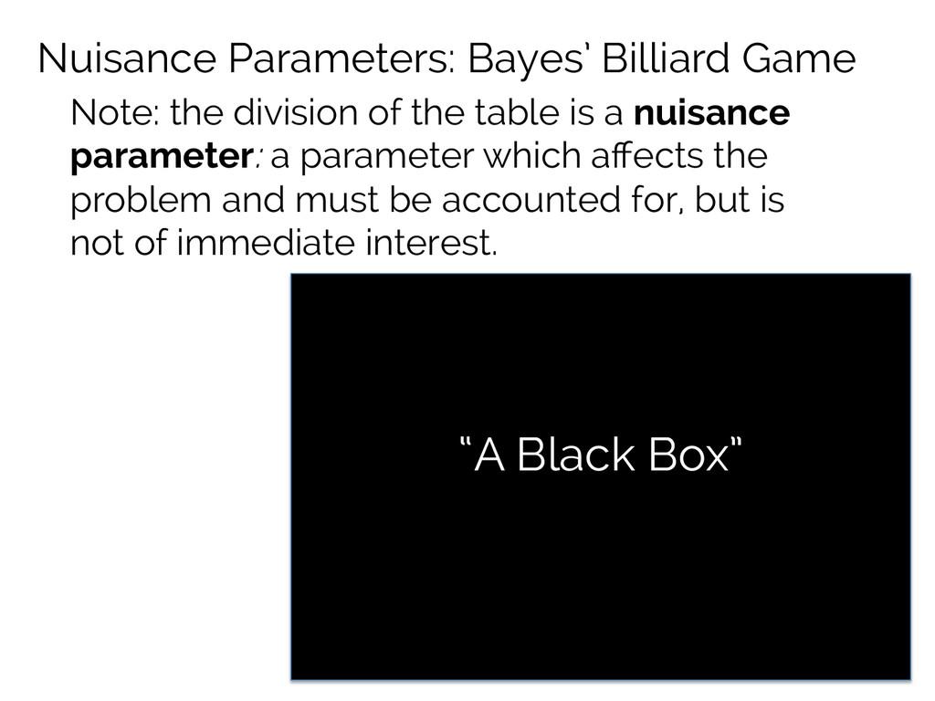 """Bob's Area Alice's Area """"A Black Box"""" Nuisance ..."""
