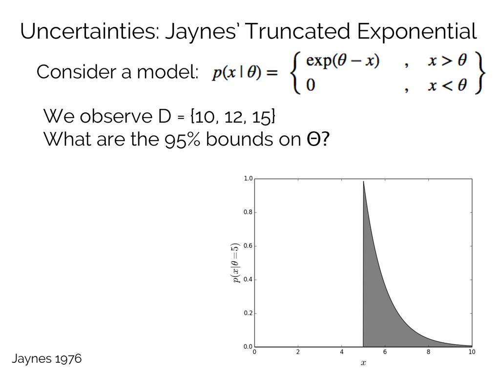 Uncertainties: Jaynes' Truncated Exponential Co...