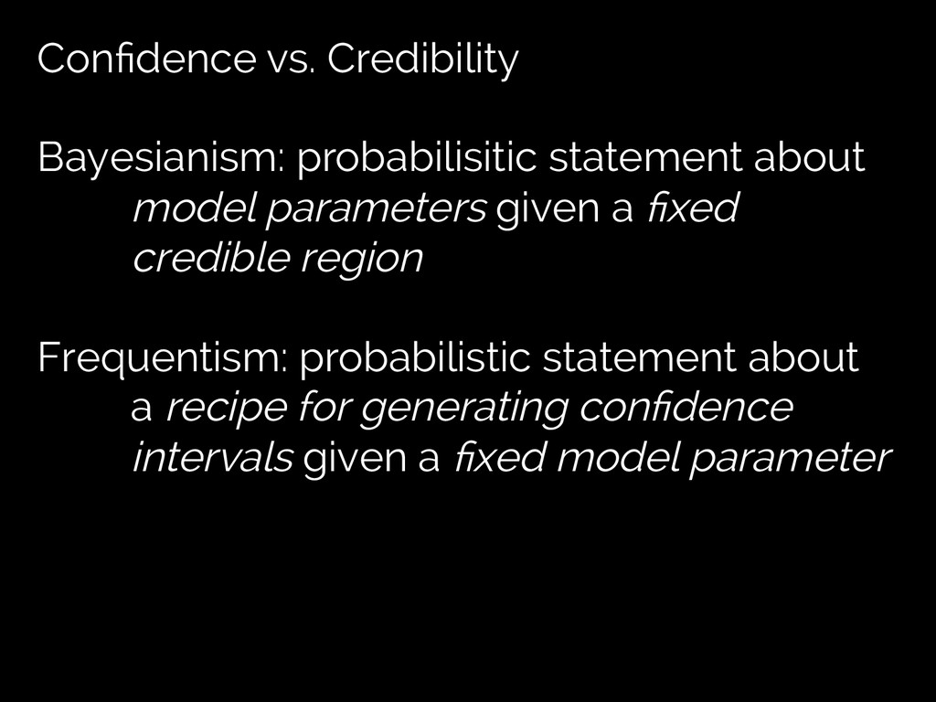 Confidence vs. Credibility Bayesianism: probabil...