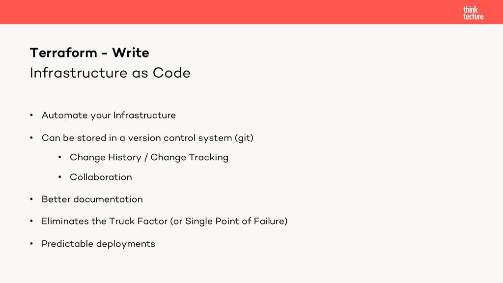Infrastructure as Code • Automate your Infrastr...