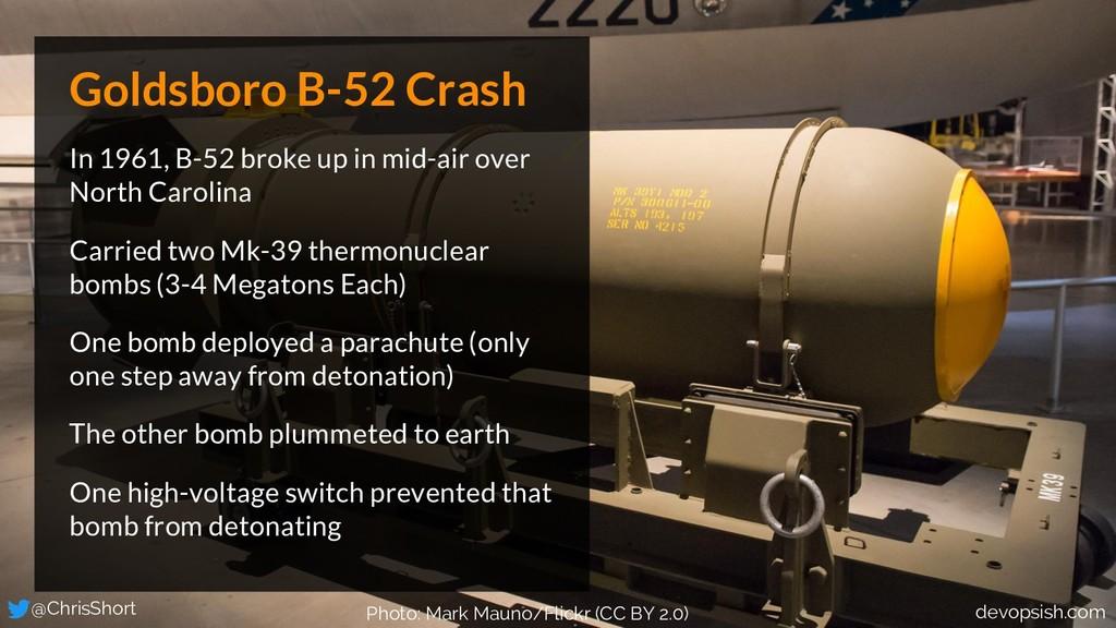Goldsboro B-52 Crash In 1961, B-52 broke up in ...