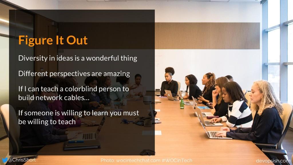 Figure It Out Diversity in ideas is a wonderful...