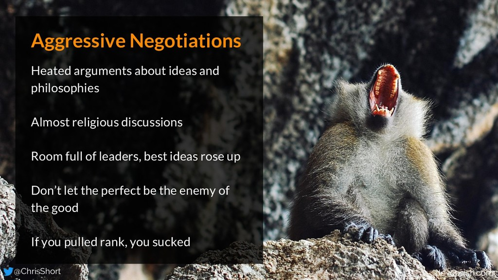 Aggressive Negotiations Heated arguments about ...