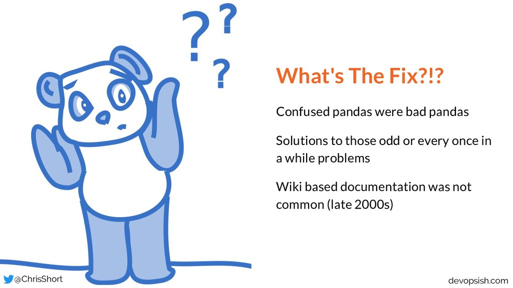 What's The Fix?!? Confused pandas were bad pand...