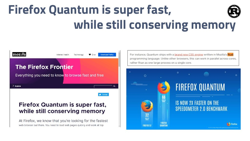 Firefox Quantum is super fast, while still cons...