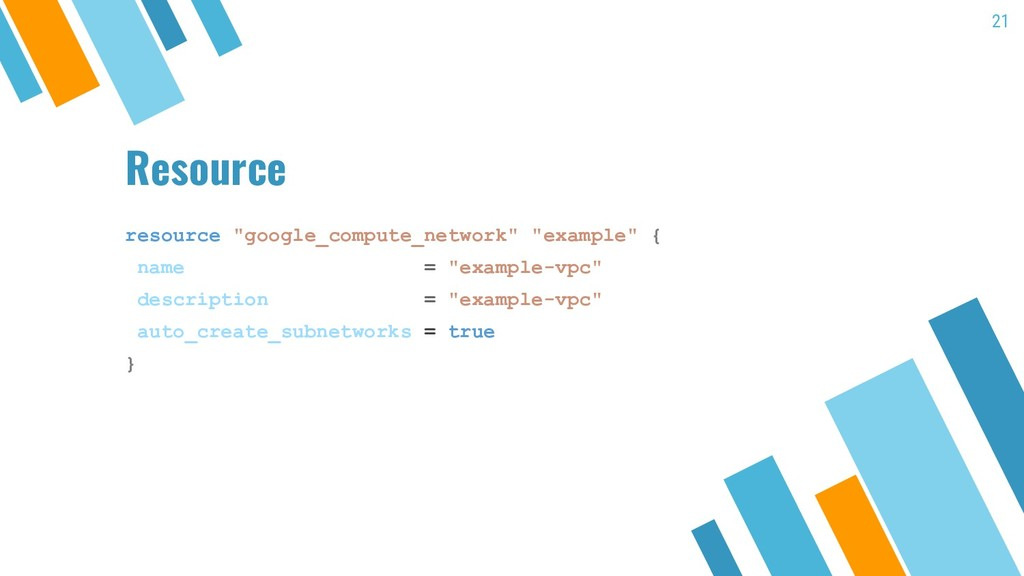 "Resource resource ""google_compute_network"" ""exa..."