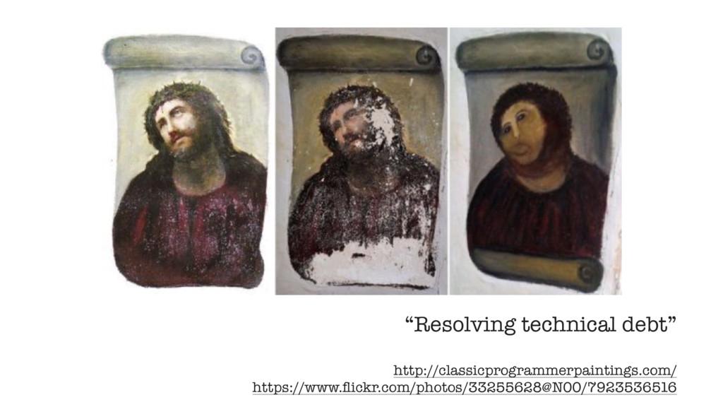"""Resolving technical debt"" http://classicprogra..."