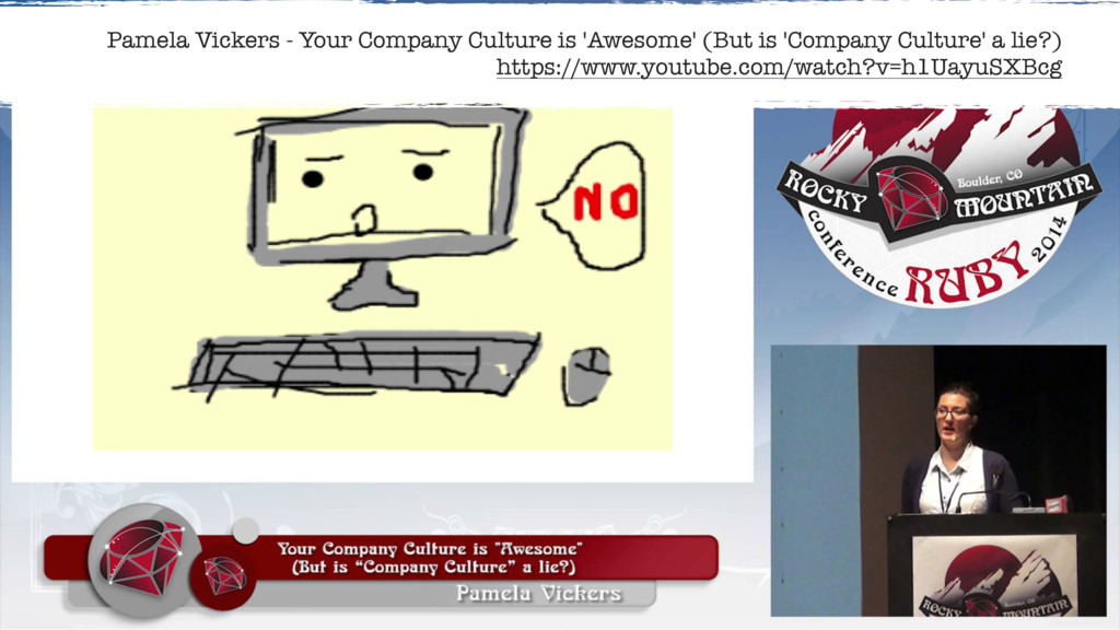Pamela Vickers - Your Company Culture is 'Aweso...
