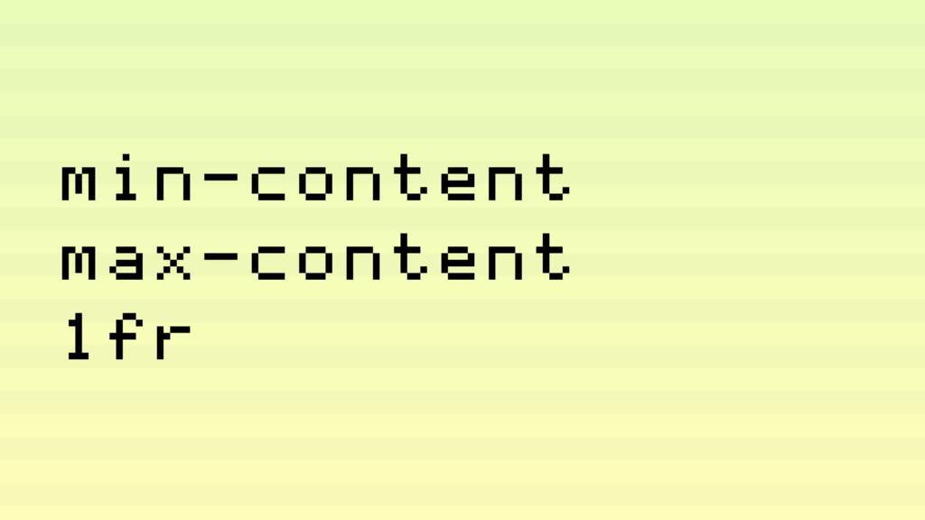 min-content max-content 1fr