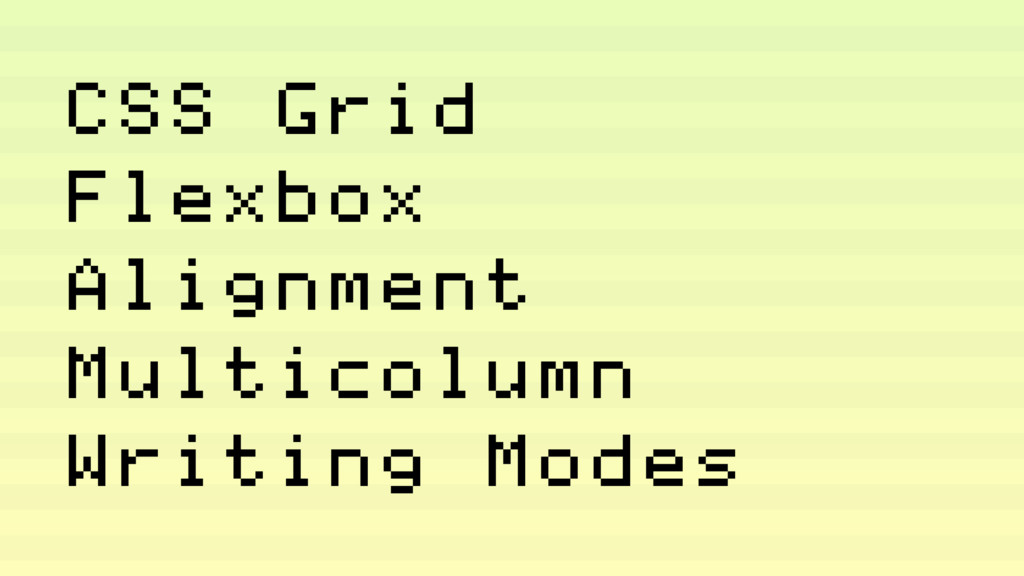 CSS Grid Flexbox Alignment Multicolumn Writing ...