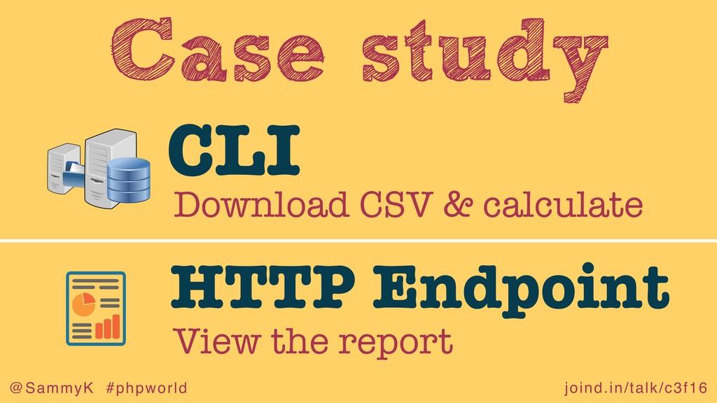 joind.in/talk/c3f16 @SammyK #phpworld Case stud...