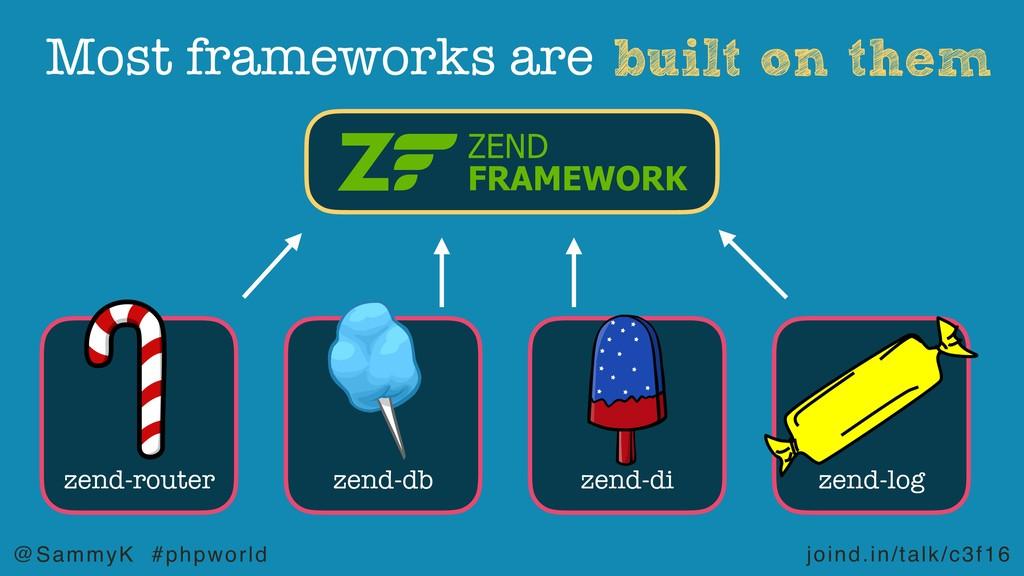 joind.in/talk/c3f16 @SammyK #phpworld built on ...
