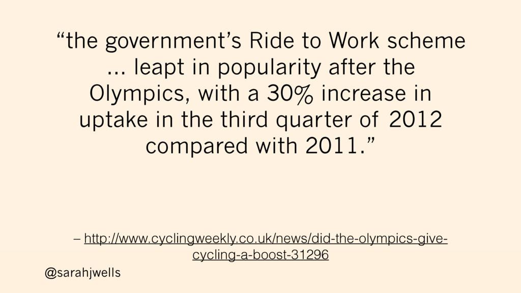 @sarahjwells – http://www.cyclingweekly.co.uk/n...