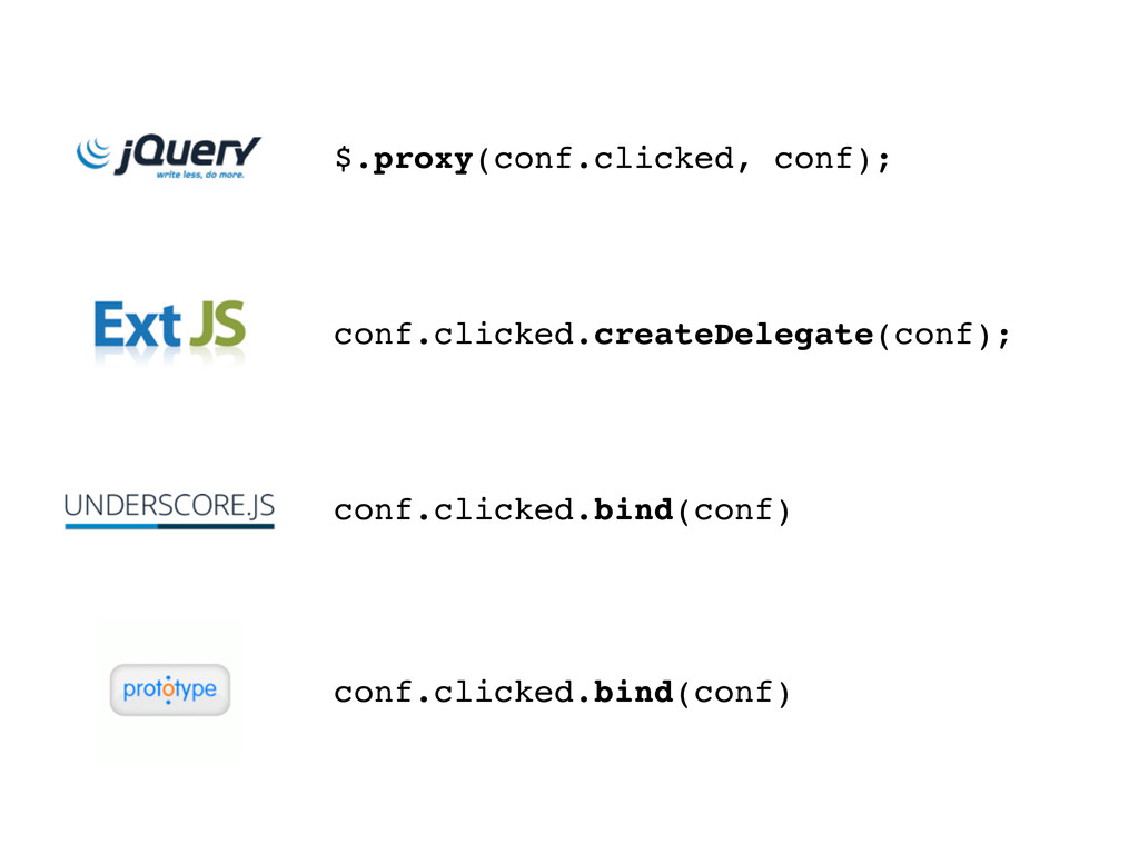 conf.clicked.bind(conf) conf.clicked.createDele...