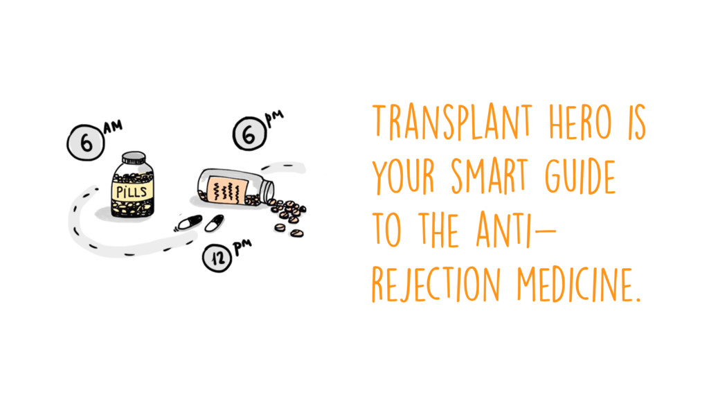 Transplant Hero is your smart guide to the anti...