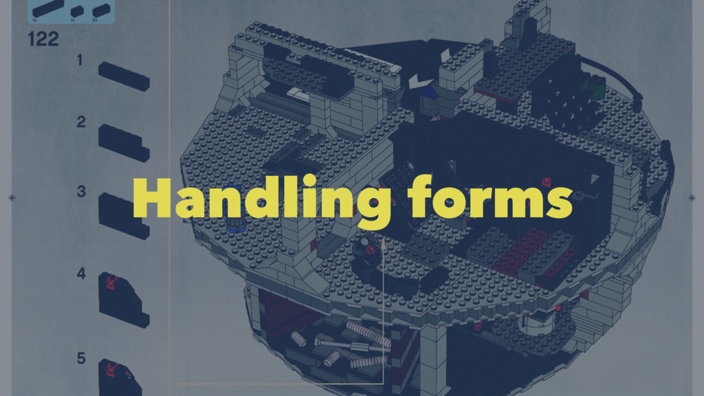 Handling forms