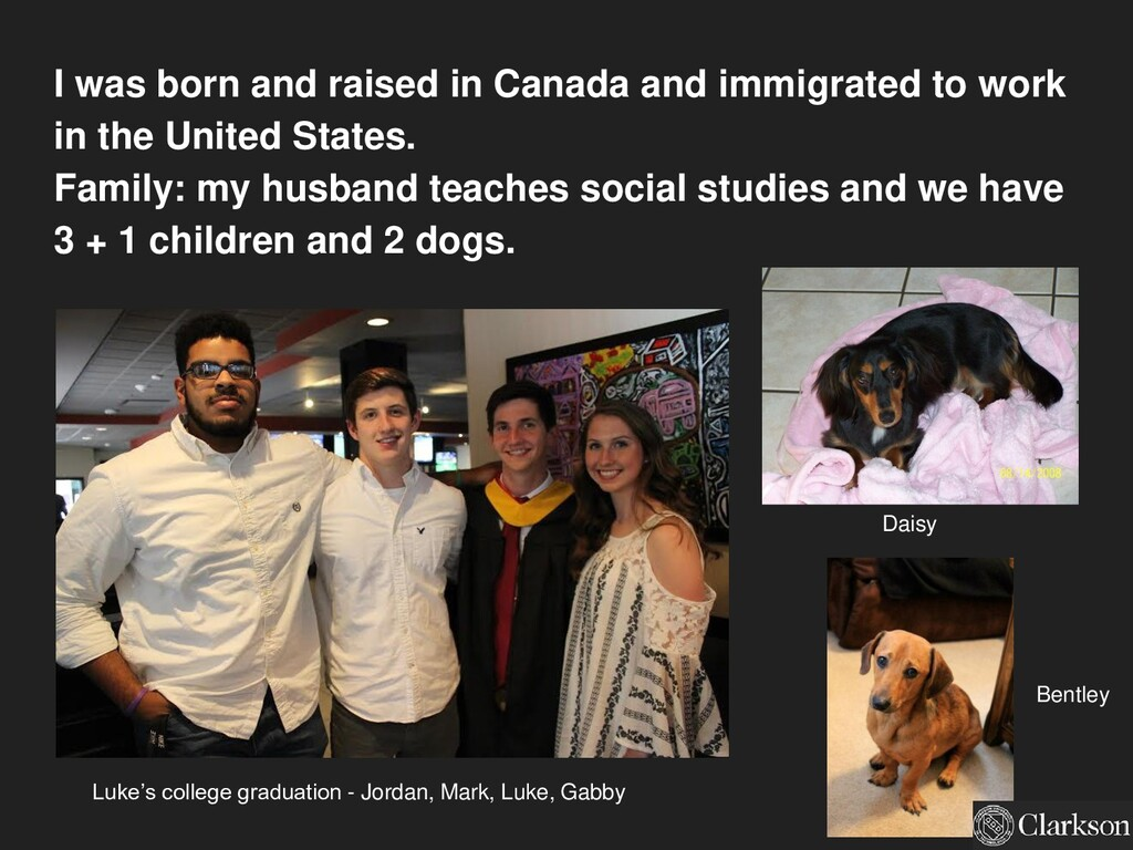 I was born and raised in Canada and immigrated ...