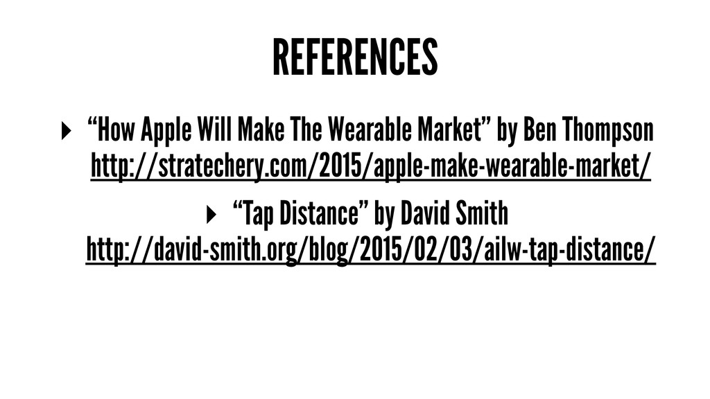 """REFERENCES ▸ """"How Apple Will Make The Wearable ..."""