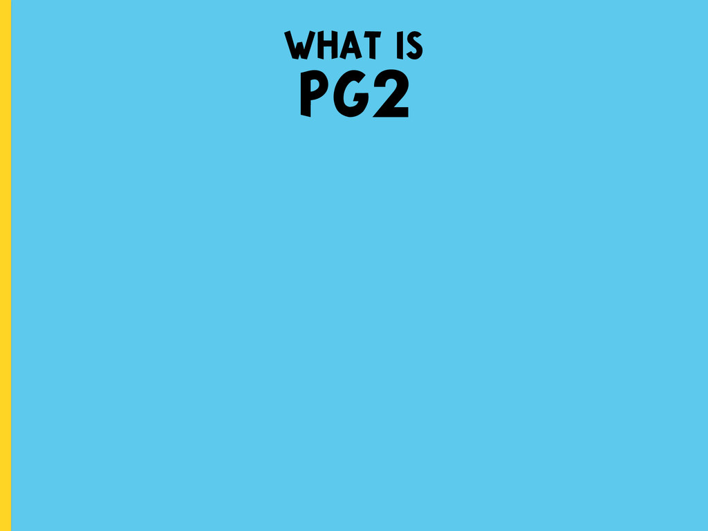 what is PG2