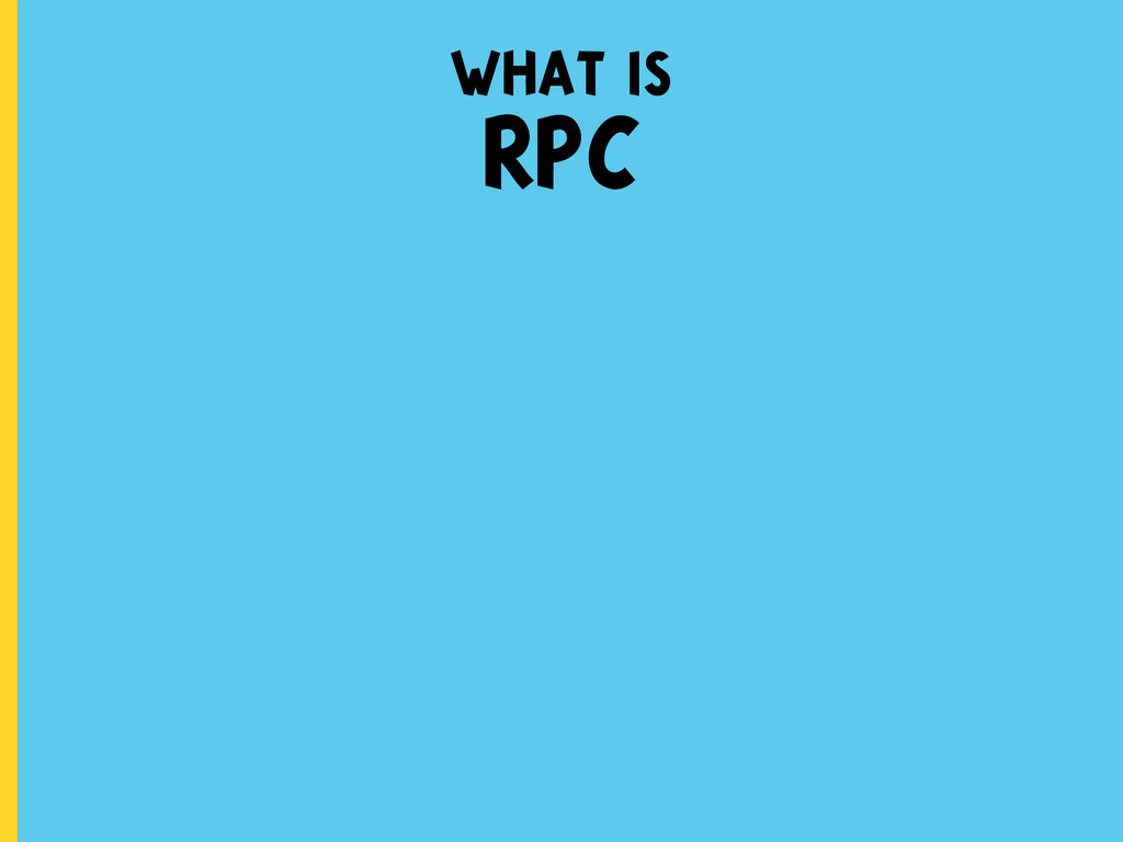 what is RPC