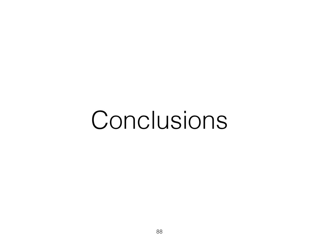 Conclusions 88