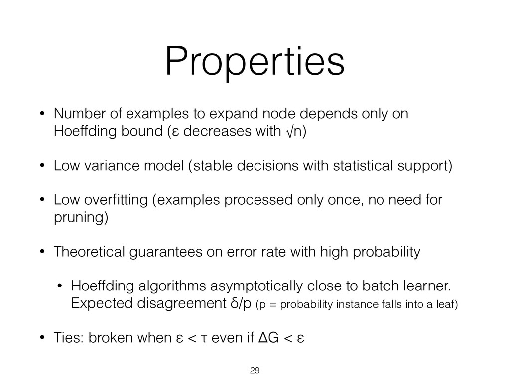 Properties • Number of examples to expand node ...