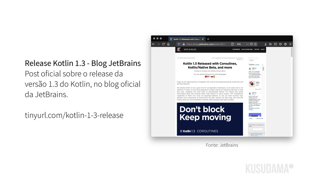 Release Kotlin 1.3 - Blog JetBrains Post oficia...
