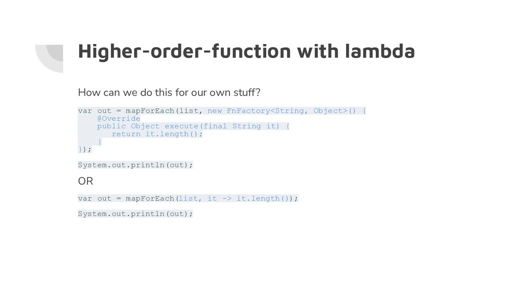 Higher-order-function with lambda How can we do...
