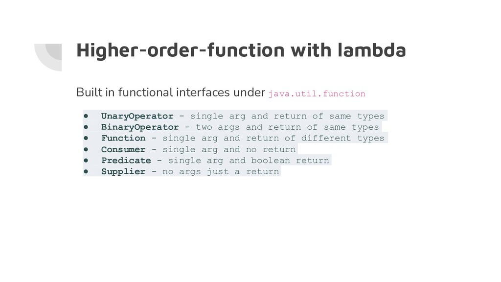 Higher-order-function with lambda Built in func...