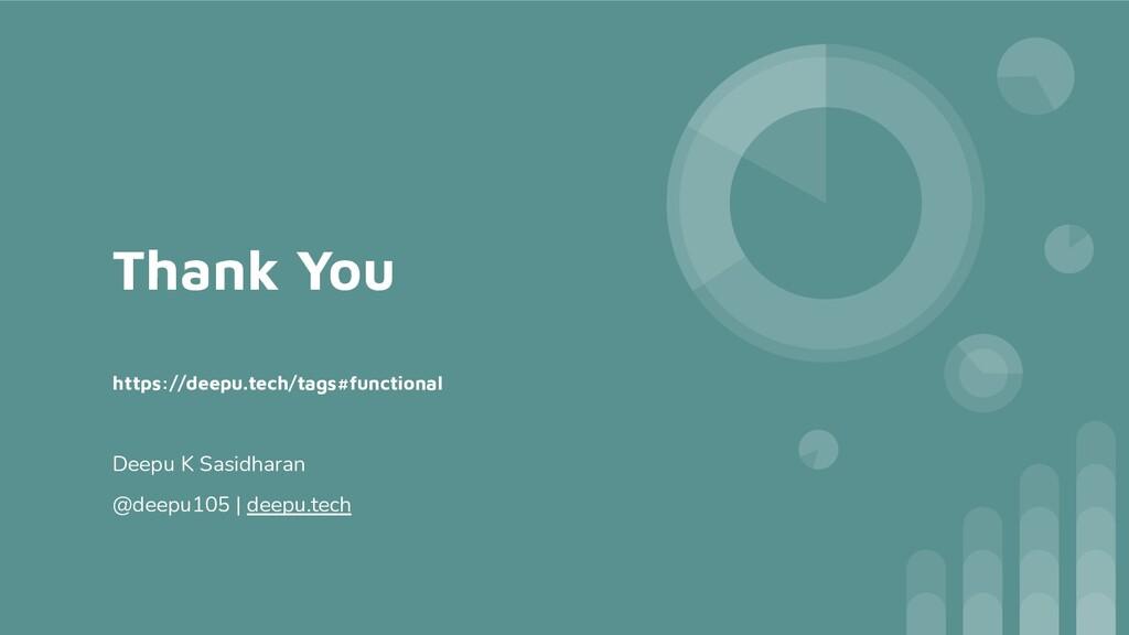 Thank You https://deepu.tech/tags#functional De...