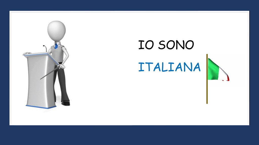 ITALIANA IO SONO