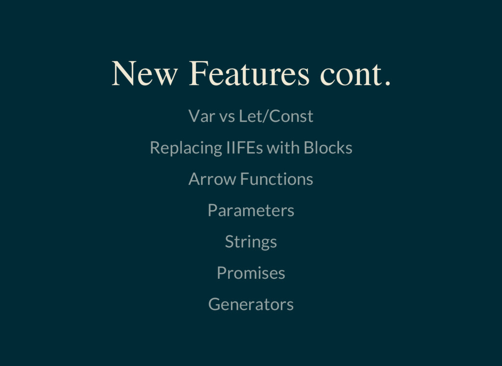 Var vs Let/Const Replacing IIFEs with Blocks Ar...