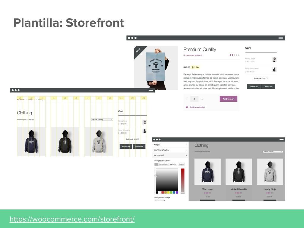 Plantilla: Storefront https://woocommerce.com/s...