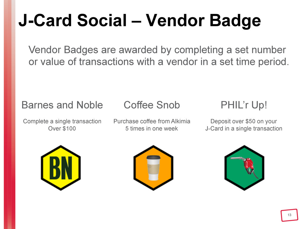13 J-Card Social – Vendor Badge Vendor Badges a...