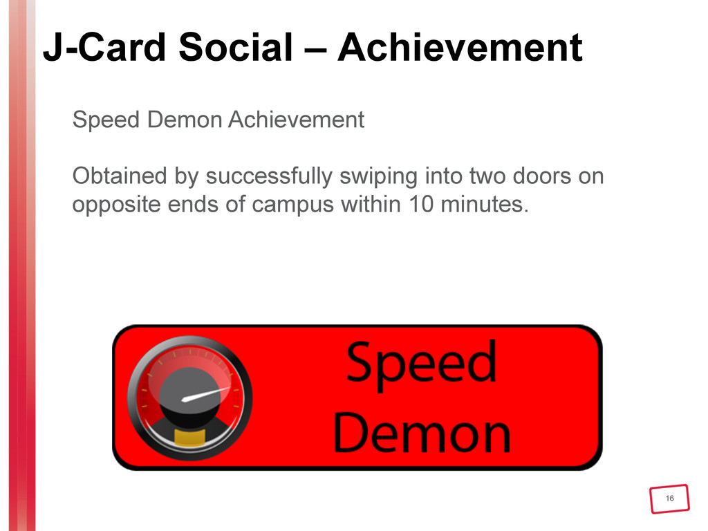 16 J-Card Social – Achievement Speed Demon Achi...
