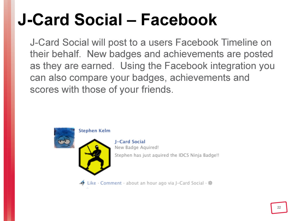 22 J-Card Social – Facebook J-Card Social will ...