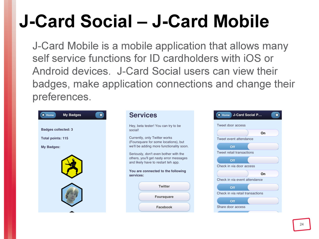 24 J-Card Social – J-Card Mobile J-Card Mobile ...