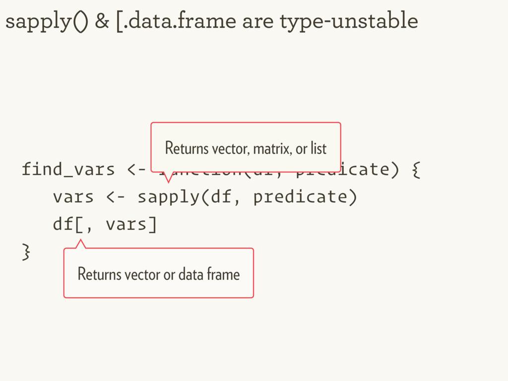 find_vars <- function(df, predicate) { vars <- ...