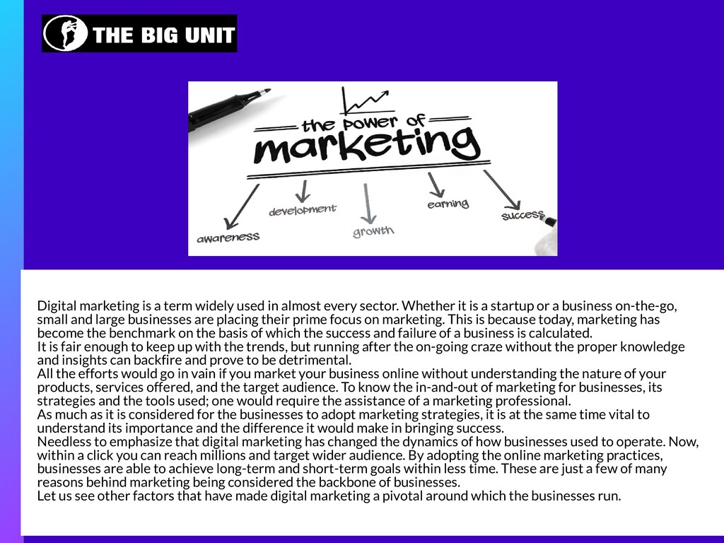Digital marketing is a term widely used in almo...