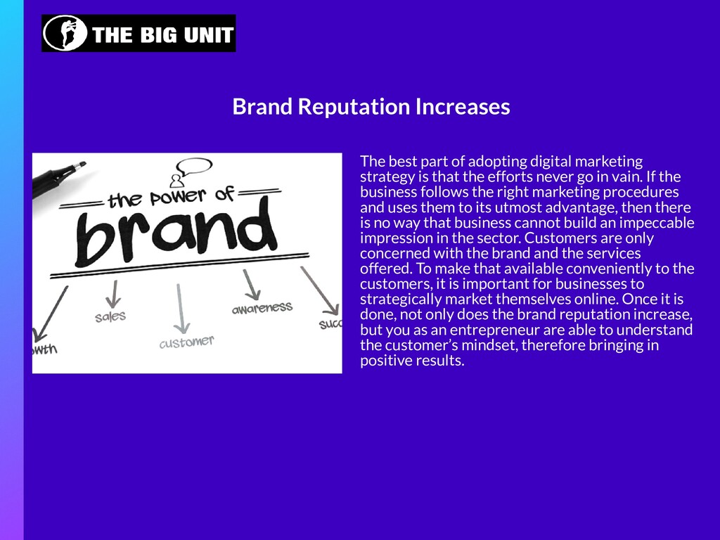 The best part of adopting digital marketing str...