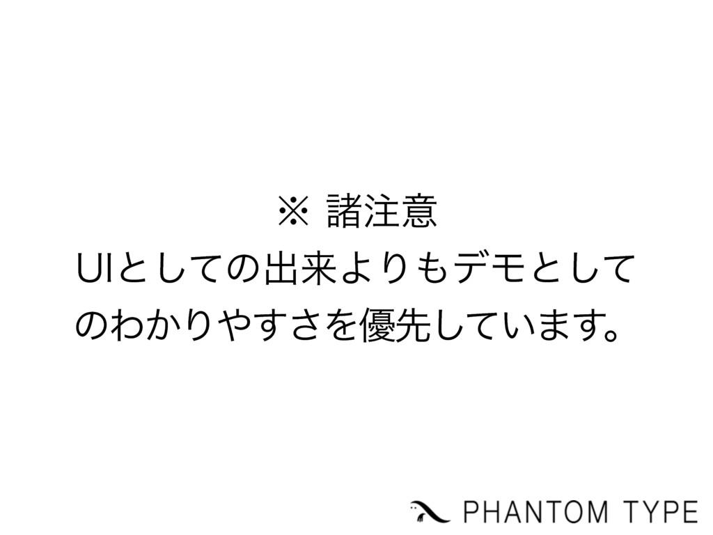 ˞ॾҙ 6*ͱͯ͠ͷग़དྷΑΓσϞͱͯ͠ ͷΘ͔Γ͢͞Λ༏ઌ͍ͯ͠·͢ɻ