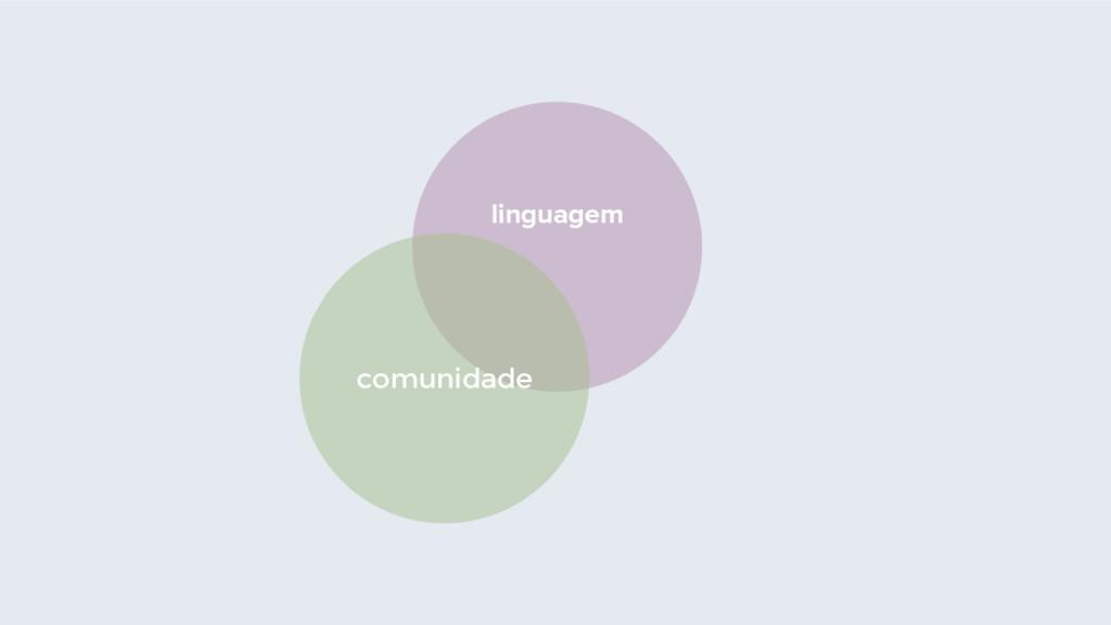 linguagem comunidade