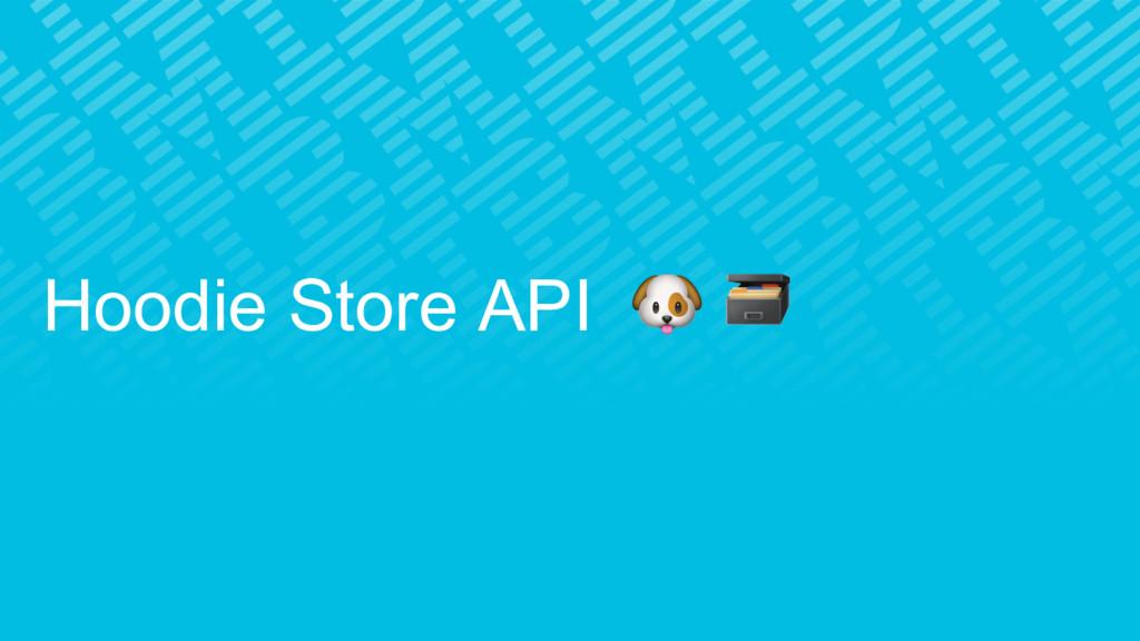 Hoodie Store API