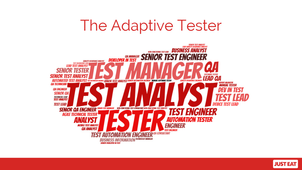 The Adaptive Tester